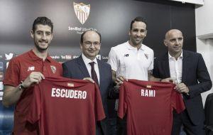 """Sergio Escudero: """"Lo importante es hacer equipo"""""""