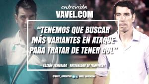 """Entrevista. Gastón Esmerado: """"Cuando no se puede ganar, no hay que perder"""""""