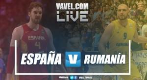 Resumen España 91-50 rumanía en Eurobasket 2017