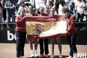 España logra el ascenso al Grupo Mundial
