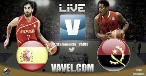 España vs Angola en vivo y en directo online