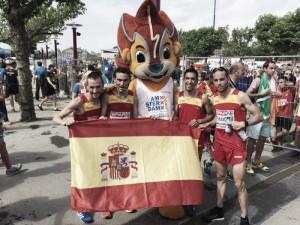 España juega en equipo y roza el oro europeo en la media maratón