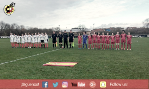 La sub-16 femenina, subcampeona del Torneo de Desarrollo de la UEFA