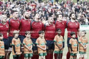 Los Leones despedazan a Uruguay