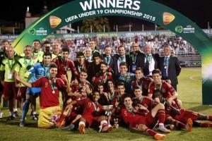 La selección española sub-19 no podrá revalidar título en Alemania