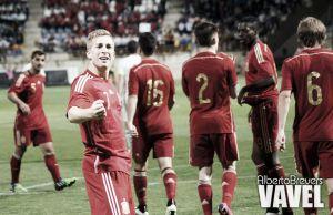 Fotos e imágenes del amistoso España Sub-21 - Bielorrusia Sub-21