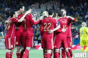 Fotos e imágenes del España 1-0 Ucrania, clasificación para la Eurocopa 2016