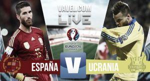 Resultado España vs Ucrania en UEFA (1-0)