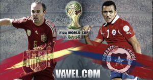 España - Chile: la fuerza de un color