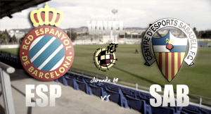 RCD Espanyol B – CE Sabadell: terminar el año con optimismo