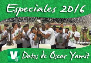 Especiales VAVEL Atlético Nacional 2016: 60 datos de Óscar Yamit