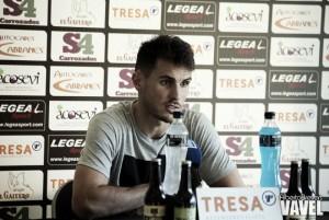"""Pablo Espina: """"Fue bastante fácil ir al Logroñés por el interés de ambas partes"""""""