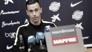 """Espinho: """"Para jugar en el Málaga hay que trabajar"""""""