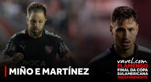 Sem sucesso no Brasil, Sánchez Miño e 'Burrito' Martínez buscam título no Independiente