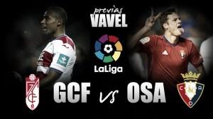 Previa Granada - Osasuna: duelo de rivales directos