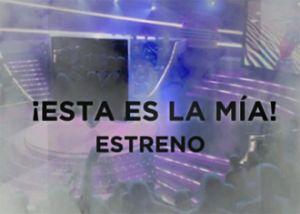 '¡Ésta es la mía!', el nuevo concurso de famosos que llega a Antena 3
