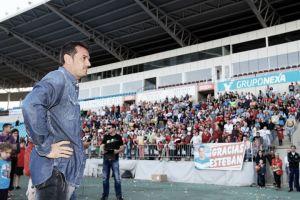 """Esteban y Almería se dicen """"hasta luego"""""""
