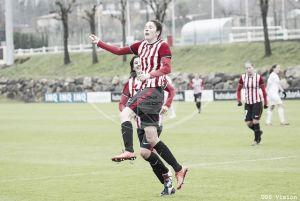 Eunate y Nekane, goleadoras frente a Estonia