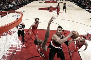 NBA, i Blazers la spuntano a Chicago all'overtime (120-124)