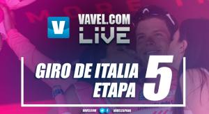 Resultado de la quinta etapa del Giro de Italia 2017: Gaviria vuelve a golpear