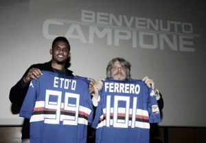 Quasi amici: Eto'o lascia Ferrero e la Sampdoria dopo sei mesi