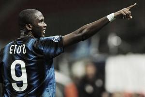 Dirigente revela sonho de Eto'o: treinar a Internazionale após pendurar as chuteiras