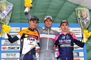 Manuel Belletti gana en el GP Costa de los Etruscos