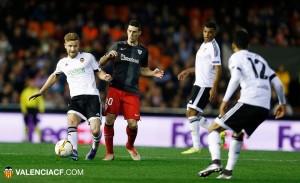 Dolorosa eliminación del Valencia en Europa League