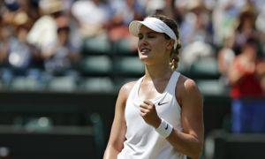 Bouchard siembra gloria en Wimbledon