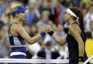 Bouchard sufrió pero ganó a Cirstea en el US Open