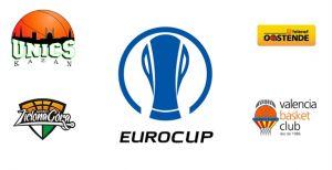 Kazan, Oostende y Zielona Gora serán los rivales del Last 32