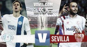 Score Dnipro Dnipropetrovsk vs Sevilla in Europa League Final 2015 (2-3)
