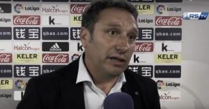 """Eusebio Sacristán: """"Teníamos ganas de ofrecer la primera victoria a nuestra afición"""""""