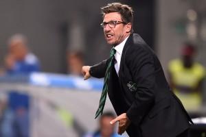 """Sassuolo, Di Francesco: """"Dobbiamo migliorare, la Roma può riprendersi"""""""