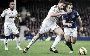 Resultado Swansea City vs Everton en la Premier League 2015 (0-0)