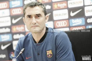 """Ernesto Valverde: """"Hemos conseguido una buena cena para todos"""""""