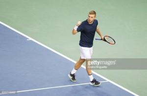Davis Cup: Evans gives Britain perfect start in tie against Canada