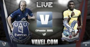 Everton vs Crystal Palace en vivo y en directo online