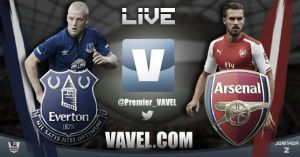 Everton vs Arsenal en vivo y en directo online