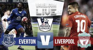 Score Everton vs Liverpool in Merseyside derby 2015 (1-1)