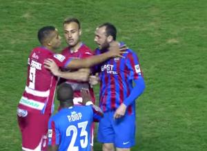 El Granada CF va a recurrir la tarjeta roja de El Arabi