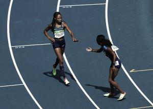 Rio 2016: US ride their luck to make 4x100m final; Jamaica safely through