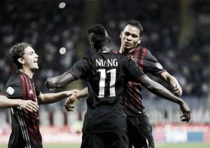 Milan - Cagliari in Serie A 2016/17 (1-0): Il Milan vince grazie a Bacca