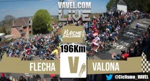 Resultado de la Flecha Valona 2016: Poker de Valverde