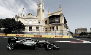 European GP: Hamilton crashes as Rosberg secures pole
