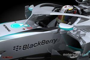 F1, FIA sperimenterà l'abitacolo Mercedes