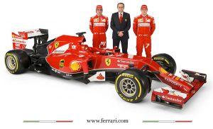 La Scuderia Ferrari présente sa F14-T