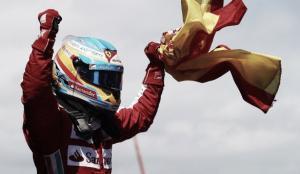 Ferrari show! Alonso Re di Spagna