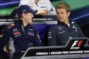 Nurburgring, prove libere 2: dominano i tedeschi! Primo posto Vettel, secondo Rosberg