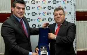 El Huesca fue homenajeado por la LFP